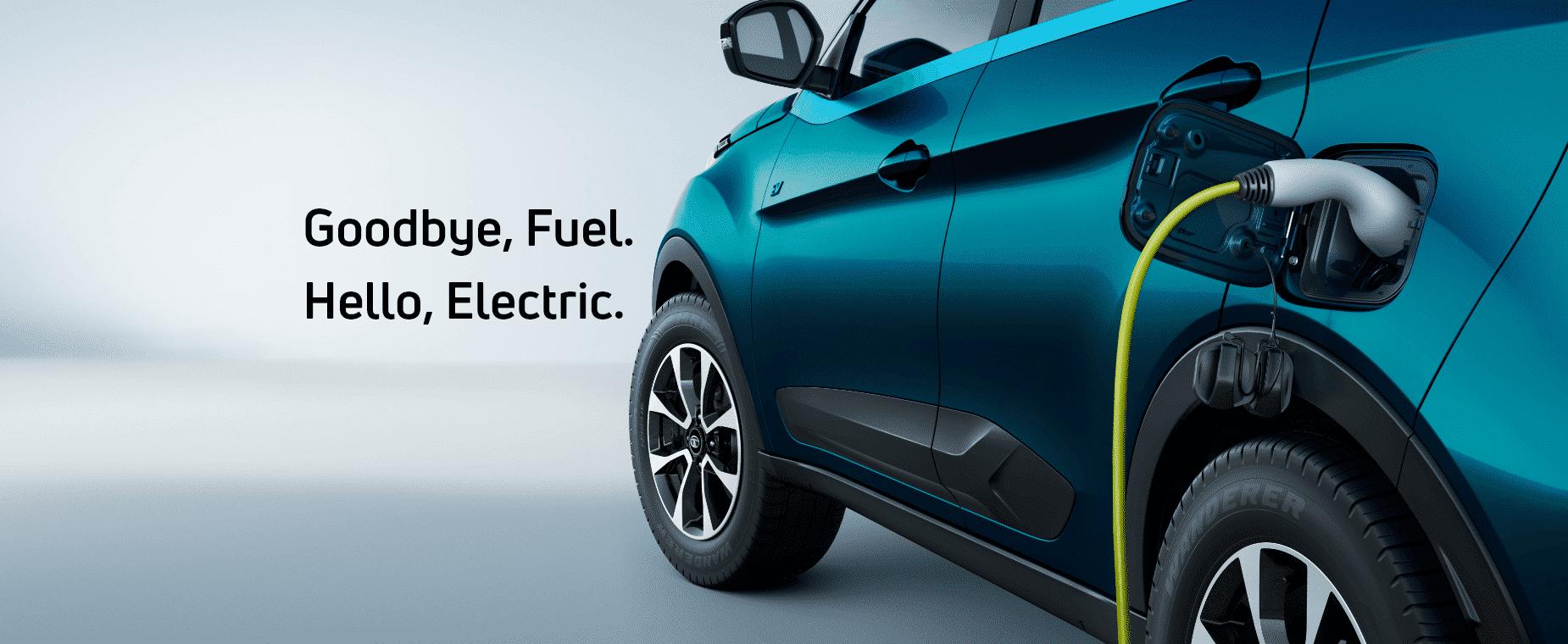 Tata Nexon Electric car