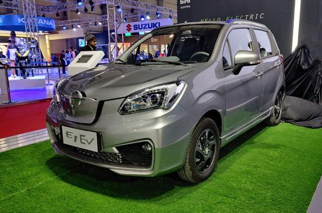 Luxury electric car india