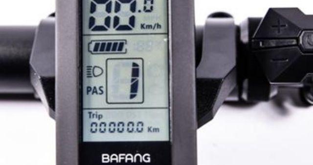 Bafang meter e bikes
