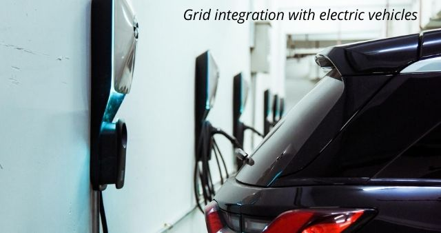 Grid integration with electric vehicles