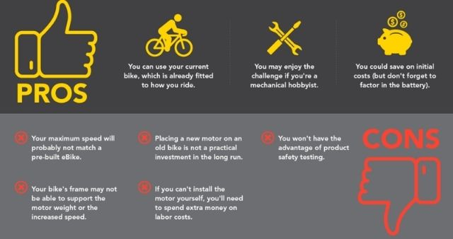 Pros And Cons Of Electric Bike Conversion Kits