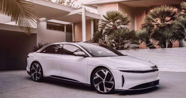 Sedan electric car