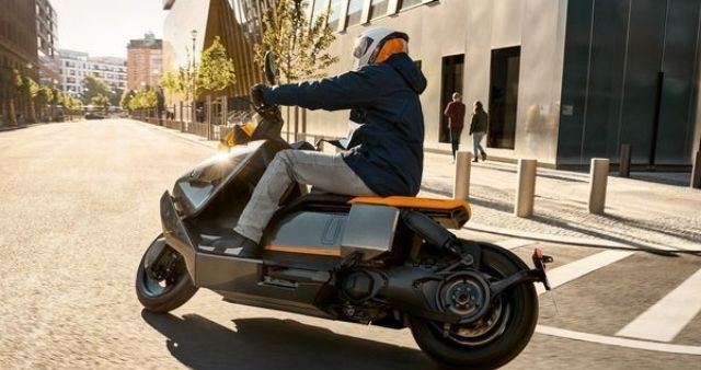 BMW Storms E Scooter