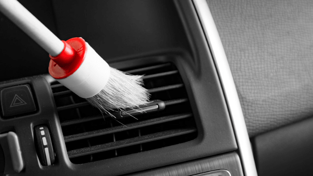 Cleaning ELectric Car Interior