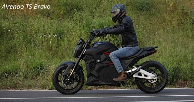 Alrendo TS Bravo Motorcycle