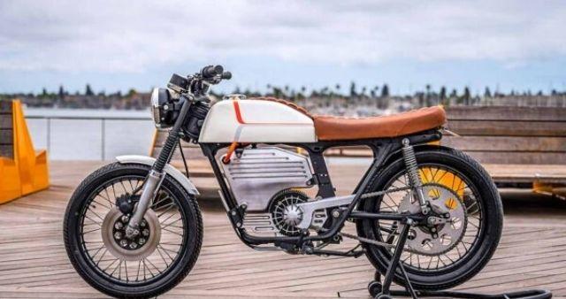 Honda CB 200 Electric bike