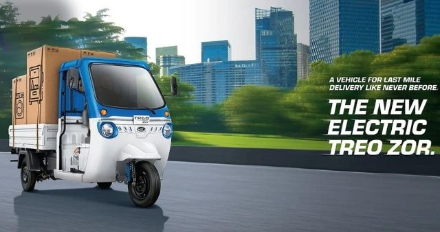 Treo Zor electric tricycles