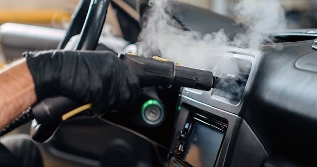 cleaning of your electric car INterior
