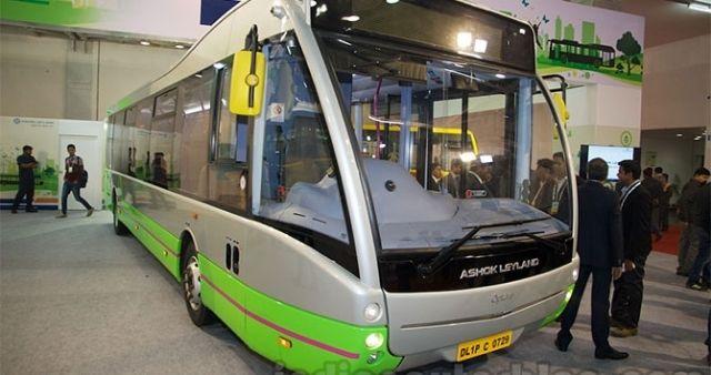 Ashok leyland electric bus