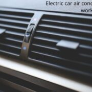 Electric car air conditioning