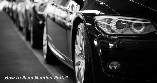 How to Read Number Plate?