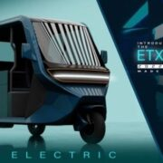 Vega ETX Electric Rickshaw