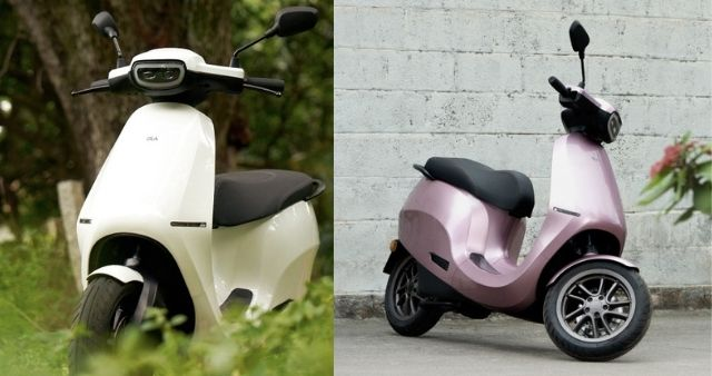 ola scooter color