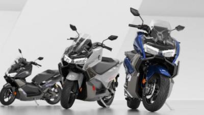 Super soco electric scooter