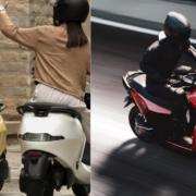 Longest range electric scooter