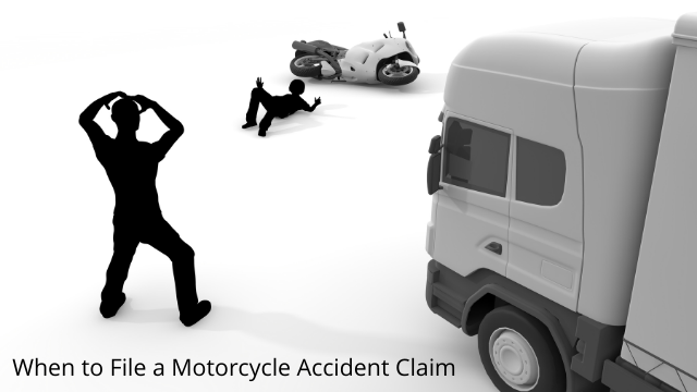 When to File a Motorcycle Accident Claim