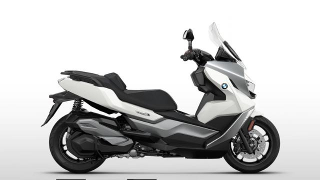 BMW Maxi scooter white