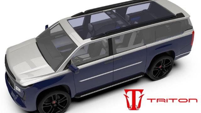 Triton EV 8 Seater