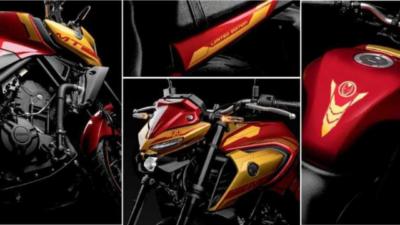 Yamaha MT 03 Iron Man Edition